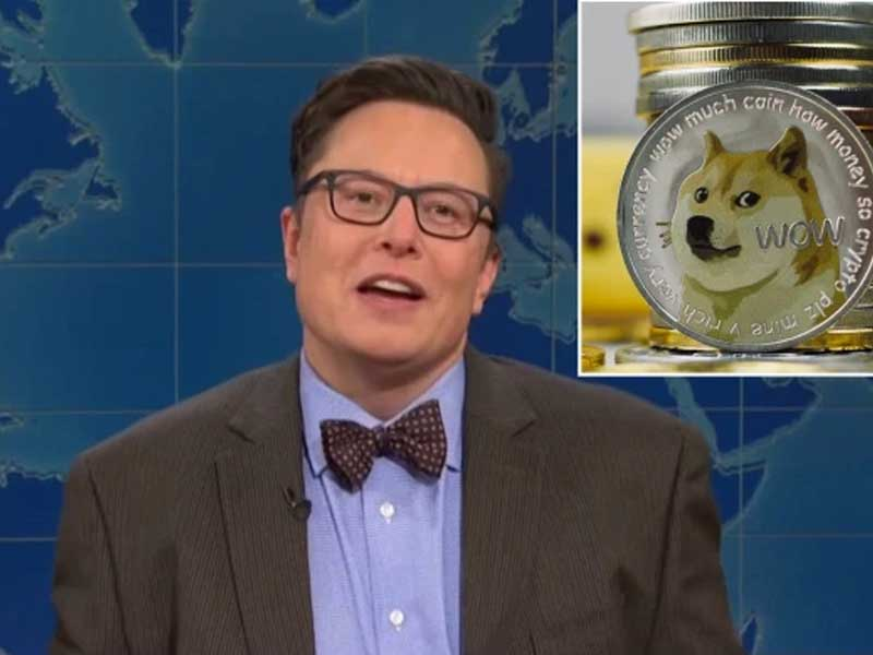 Dogecoin took a dive during Elon Musk's 'SNL' hosting gig