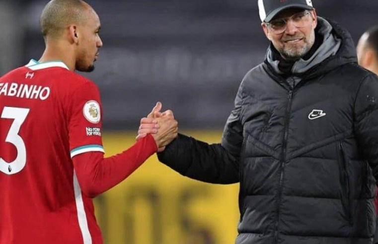 Fabinho picks out 'special' Liverpool star he has particular connection with