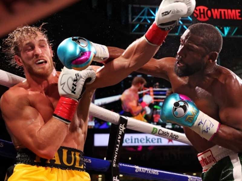 Logan Paul Fight With Floyd Mayweather Goes Dark for Many Showtime Customers