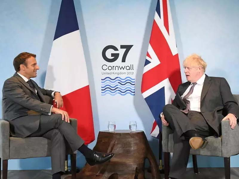 Macron will reset relations with UK if Johnson 'keeps his word' on Brexit