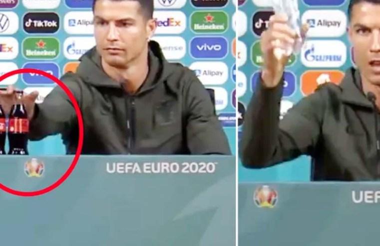 Cristiano Ronaldo's Euro 2020 stunt costs Coca-Cola $5.2 billion