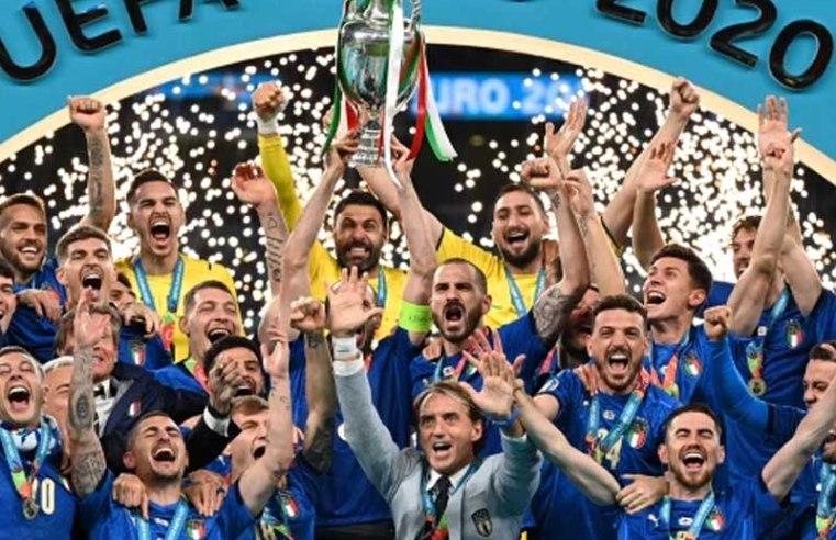Euro 2020 final: Italy beat England on penalties at Wembley