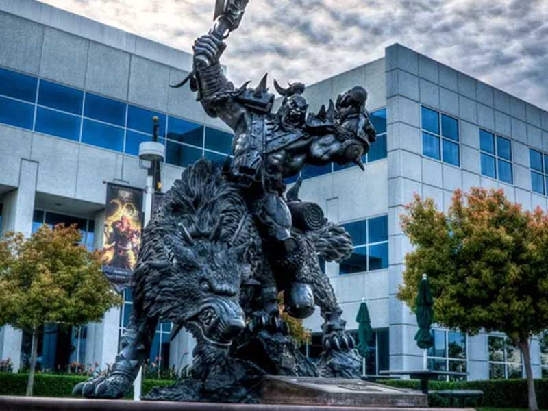 Activision Blizzard sued by state agency over alleged widespread discrimination