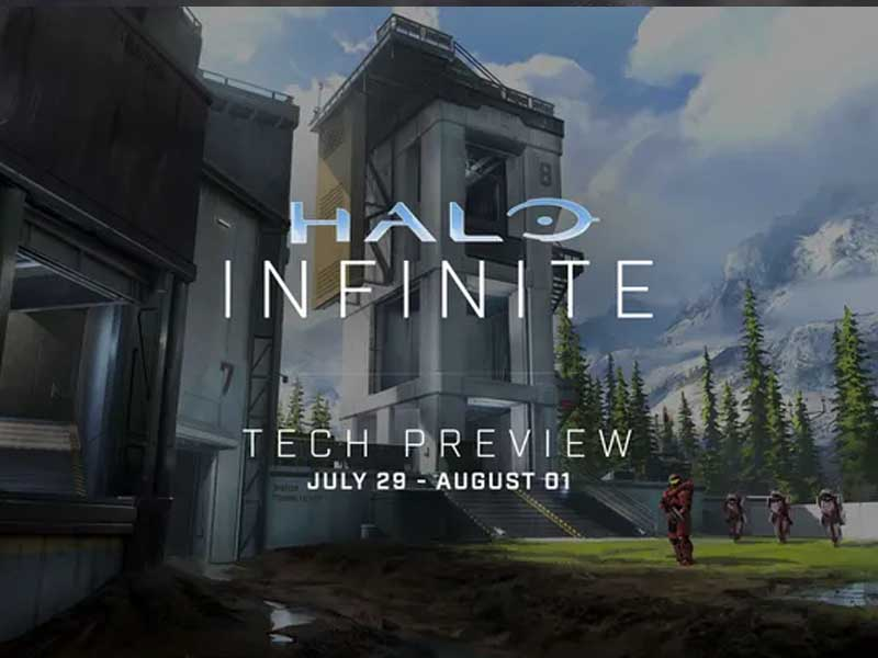 Halo Infinite's first multiplayer beta begins on July 29th