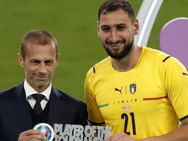 Italy keeper Donnarumma named Euro 2020 Player of the Tournament