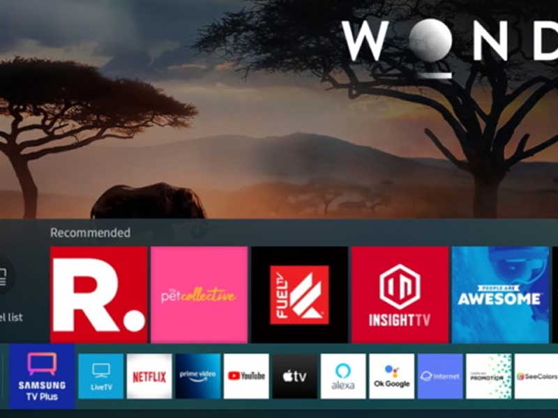 Samsung's TV Plus streaming goes live on the web to amp up the streaming wars