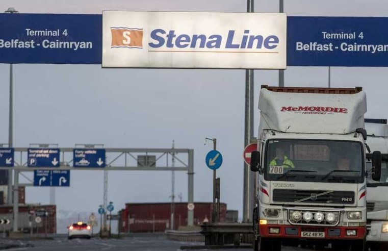 EU dropped 800 new regulations on Northern Ireland without notice, says Government