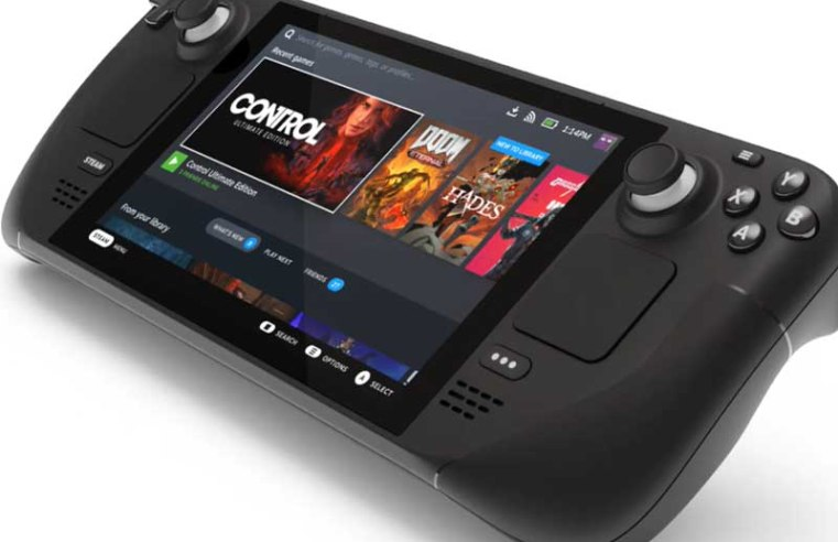 Valve unveils Steam Deck, a handheld gaming PC powered by AMD