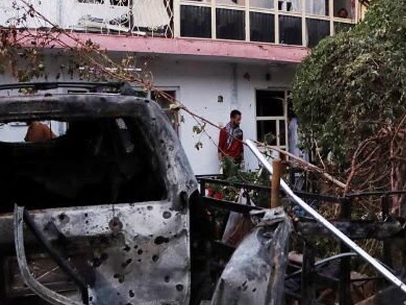 US drone strike kills nine members of one family in Kabul