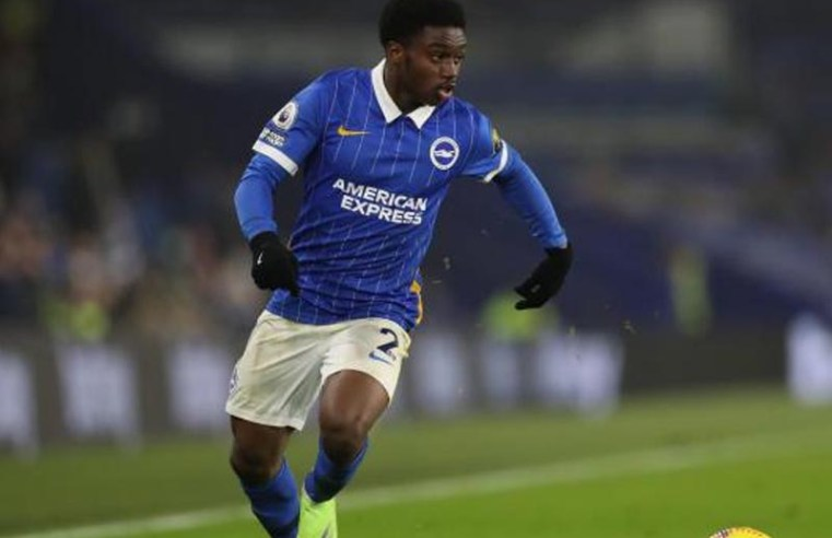Brighton's Tariq Lamptey is in line for a return at the Amex