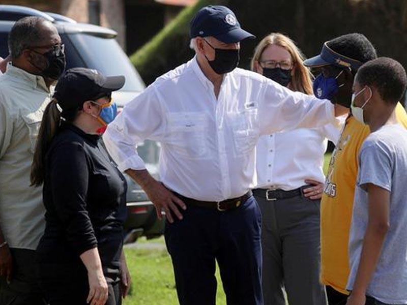 Biden vows to help Hurricane Ida victims in Louisiana