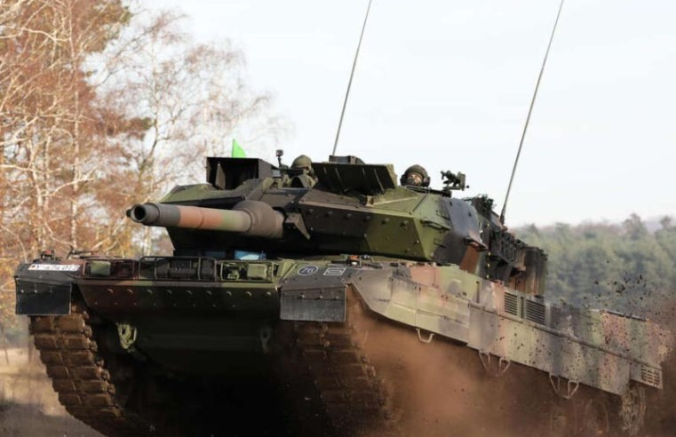 German Army receives latest version of iconic Leopard 2 tank