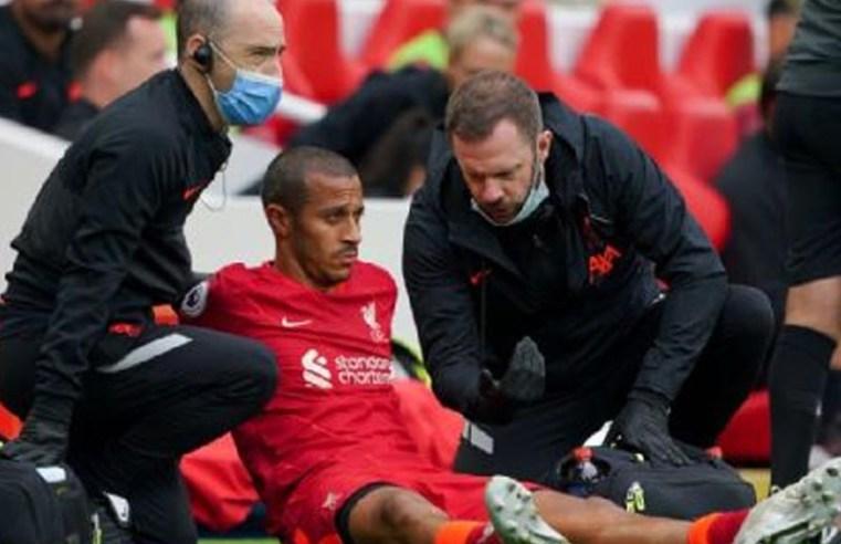 Liverpool's Jurgen Klopp confirms Thiago injury blow, to miss Manchester City clash