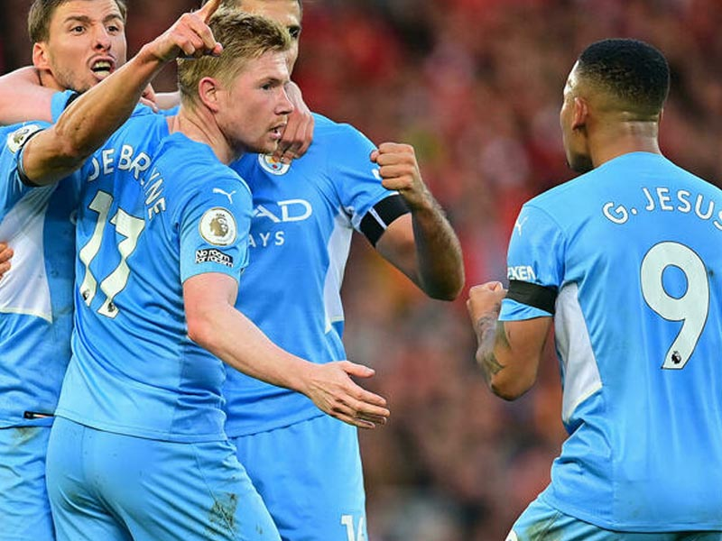 Man City allege staff spat at in Liverpool draw: reports