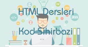 HTML Dersleri HTML Nedir