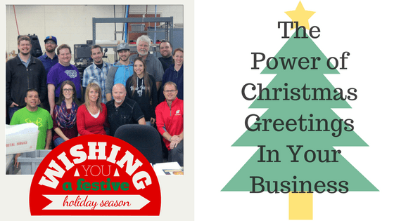 Christmas Greetings, Greeting cards for business, power of greeting cards