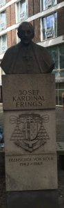 Kardinal Frings Denkmal, Laurenzplatz, Bild: Uli Kievernagel
