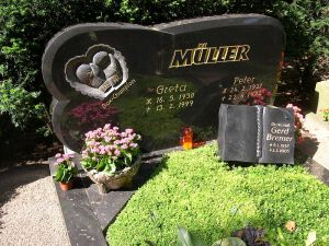 Grab Peter Müller auf dem Südfriedhof