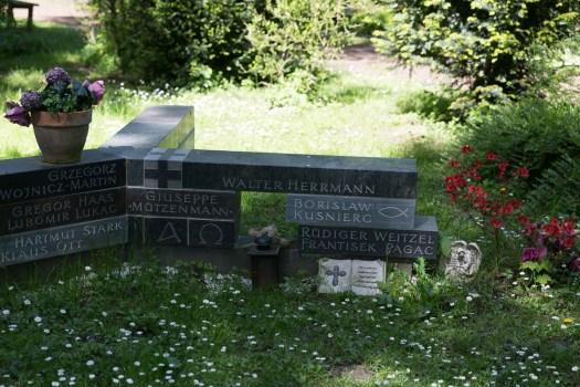 Obdachlosengrabstätte auf dem Südfriedhof, Bild: Thomas Salditt