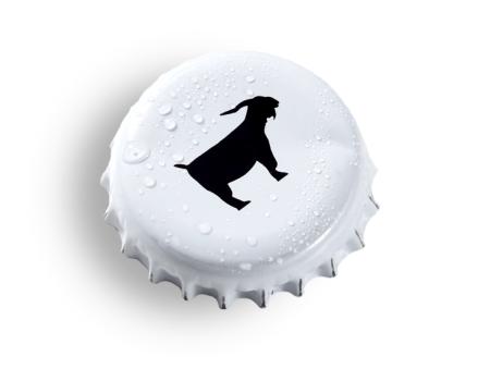 Minimalistisches Design - großartiges Bier: Der Düxer Bock, Bild: Hamacher-Linnenberg