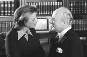 Mildred und Walter Scheel im Jahr 1976, Bild: Bundesarchiv