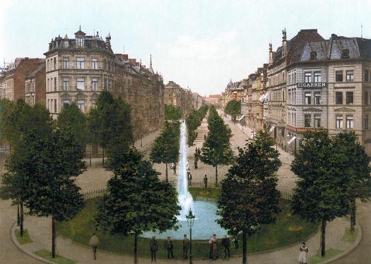 Nä - wat doch fröher schön: Der Barbarossaplatz um 1900