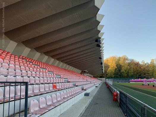 Das Franz-Kremer-Stadion am Geißbckheim, Bild: Bild: Hans Jörg Michell, www.lindenthal.blog