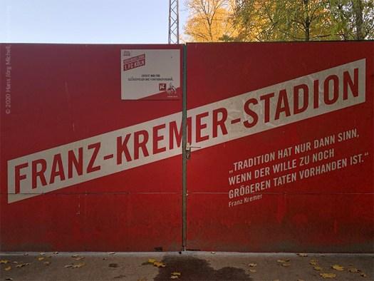 Franz Kremers Aussage zur Tradition hat noch heute ihre Gültigkeit, Bild: Hans Jörg Michell, www.lindenthal.blog
