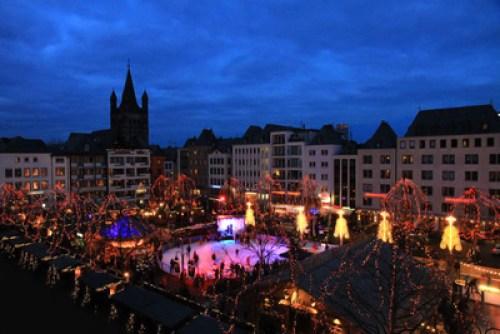 Weihnachtsmarkt in Köln, Bild: Rike / pixelio.de