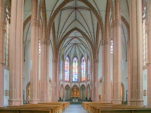 Der prachtvolle Innenraum von St. Agnes, Bild: Till Niermann, CC BY-SA 3.0