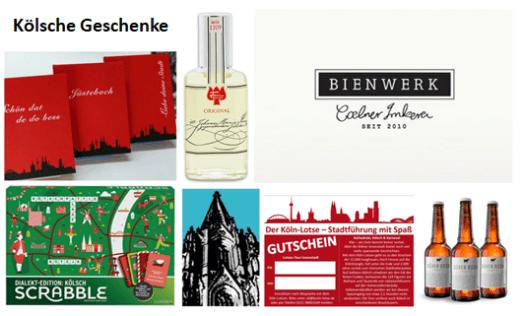 Geschenke aus Köln - für Kölsche und Kölle-Liebhaber