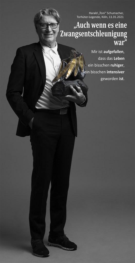 Toni Schumacher hat das ruhigere Leben genossen, Bild: Studio157.info