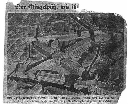 Historische Aufnahme des Klingelpütz, undatiert, vermutlich 1900-1930, Bild: gemeinfrei.