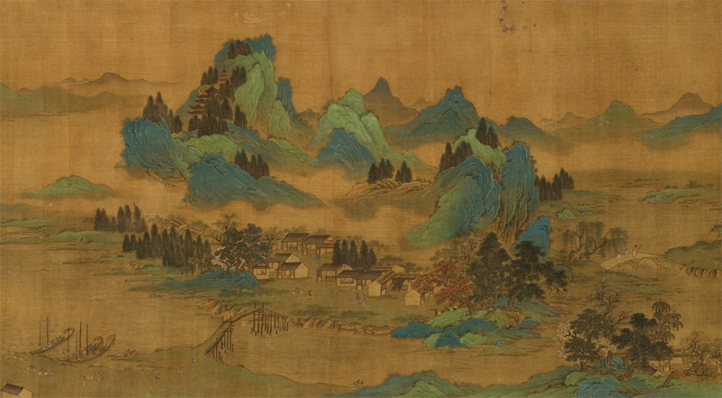 Fine Art Reproduction Presents To China 7th Yan Liben By