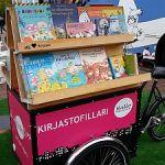 Von der Buchmesse mitgebracht: Das Bibliotheksfahrrad aus Helsinki