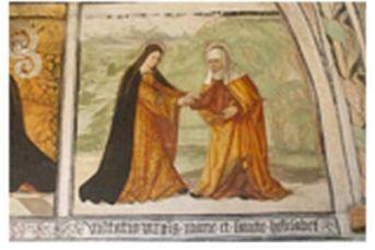 Maria bei Elisabeth - die biblische Szene des Magnificat