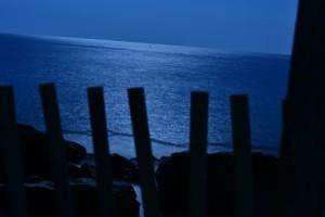Mondschein überm Atlantik - fotografiert am Cape Cod (Foto:Christian Baller)
