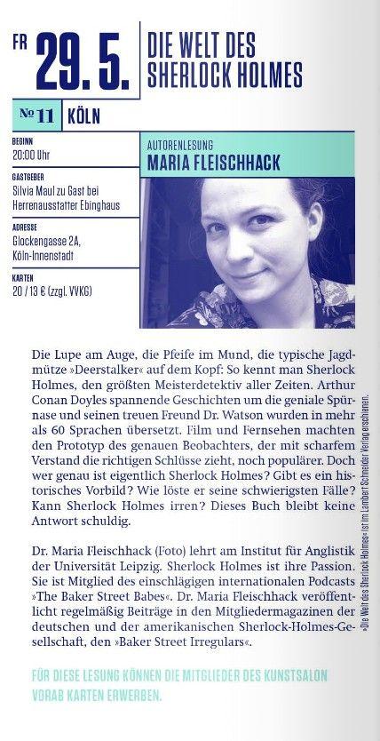 Maria Fleichhack in Köln