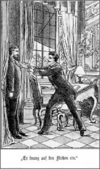 Natürlich hat Franz von Helfenstein gegen Gustav keine Chance