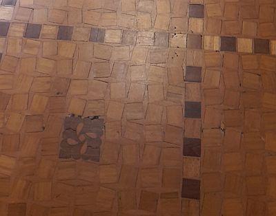 Carnegie-Bibliothek Reims Fußboden
