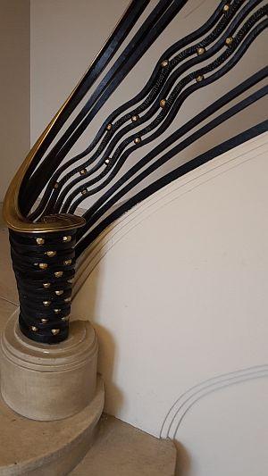 Carnegie-Bibliothek Reims Treppengeländer