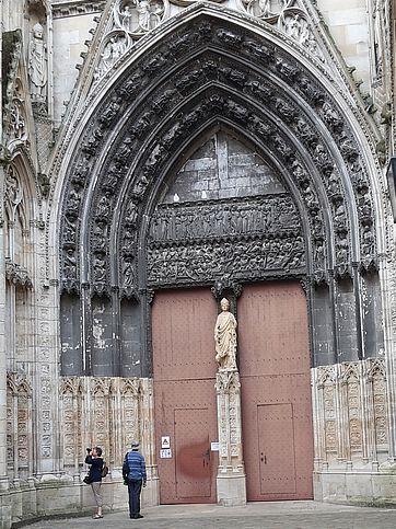 Kathedrale Rouen Portail des Libraires