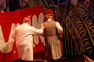 Bühnenstück der Rekruten