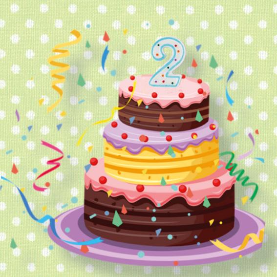 Geburtstage feiern. Ohne Stress.