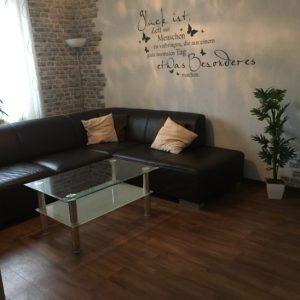 FeWo Wiesengrund - Wohnzimmer mit Wohlfühlcouch