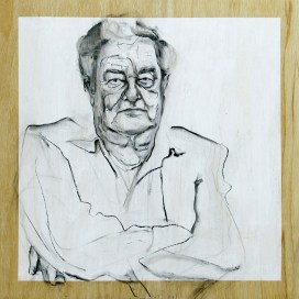 Cor Bernard  Acrylic on wooden panel   70x80 cm