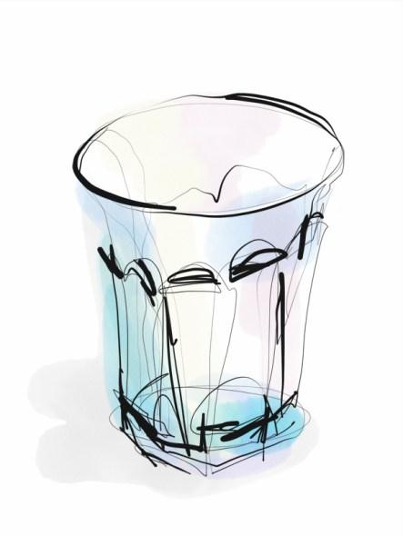 Glass   digital drawing   illustration
