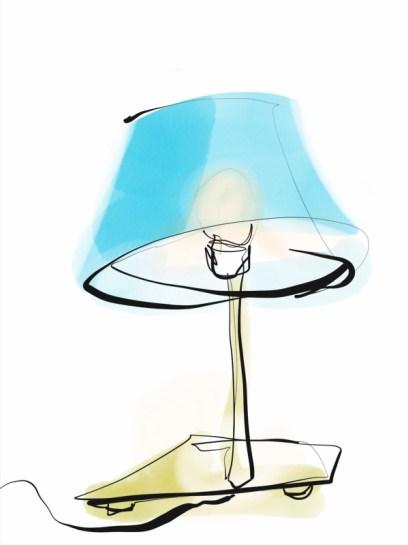 Lamp | digital drawing | illustration