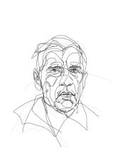 Gerard Reve | digital drawing | prints available