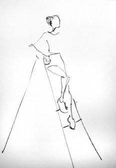 Model tekenen drawing Dana